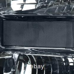 Pour 08-10 Ford F250 F350 Boîtier Fumé Super Duty Lampes Phares En Angle Clair