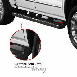 Pour 15-21 Ford F-150 Super Crew Cab 6 Running Boards Side Steps Nerf Bars Paire