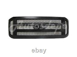 Pour 2005-2007 Super Duty F250 F350 F450 F550 Grille Paintable (honeycomb Insert)