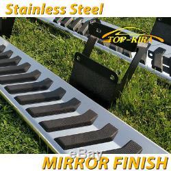 Pour 2015-2020 Ford F150 Super Crew Cab 6nerf Side Bar Marchepied Side Step V