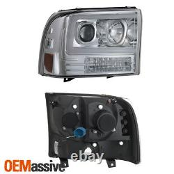 Pour 99-04 Ford F250 Super Duty / 00-04 Ford Excursion Light Projector Phares