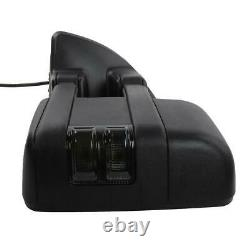Pour 99-07 Ford F250 Super Duty Rewing Mirrors Power Heated Smoke Turn Signal