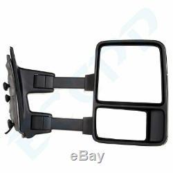 Pour 99-07 Ford F250-f550 Super Duty Remorquage Miroirs Paire Électriques Et Chauffants Clignotants