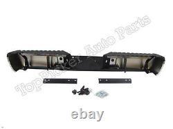 Pour Ford Super Duty 2008-2012 Pare-chocs Arrière Chromé Assy Pad Support Witho Capteur