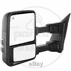 Pour Le Remorquage 2003-07 Ford F250 / F350 Super Duty Électriques Et Chauffants Signal Miroir Côté Passager