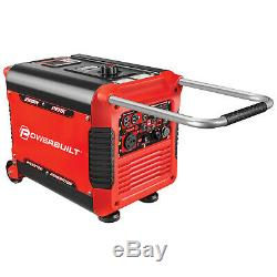 Powerbuilt Inverter Generator 3500 Watts, Super Silencieux, Démarrage Électrique 240064