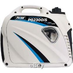 Pulsar 2300 Watt Gaz Portable Aux Super Silencieux Onduleur Générateur Pg2300is