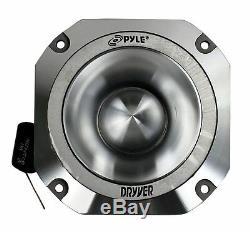 Pyle Pdbt31 1,5 1000w 4 Ohms Heavy Duty Titanium Super Car Audio Tweeters, Paire