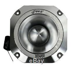 Pyle Pdbt31 1,5 2000w 4 Ohms Heavy Duty Titanium Super Car Audio Tweeters
