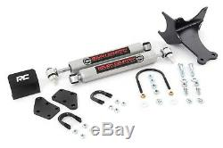 Rough Country Ford F250 F350 Super Duty Double Amortisseur De Direction 2005-2020 4 Roues Motrices