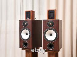 Ruban Tweeters Super Tweeter Speaker Hifi Audio Audiophile New Pair Wood