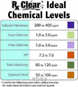 Rx Effacer 68% D'hypochlorite De Calcium Super Chlorine Pool Shock 24 X 1 Lb Sacs