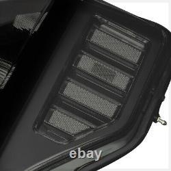 S'adapte 2017-2019 Ford F250/f350 Super Duty Sdblack/smokecrystal Corner Headlight
