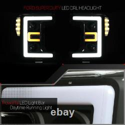 S'adapte 2017-2019 Super Dutydual Led E-barblack/clear Corner Projecteur Phare