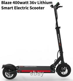 Scooter Électrique Au Lithium Intelligent De Blaze 400 Watts. Super Léger. 22+ Mph