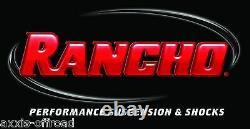 Shocks Rancho Rs5000x Pour 2005 Ford F-250 F-350 2016 Super Duty 4wd 0 Lift