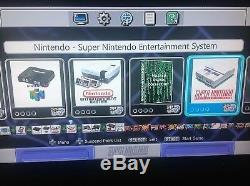 Snes Jeux Classiques 8000+ Super Nintendo Classique Rapide Réinitialiser & Turbo Mod + Cont