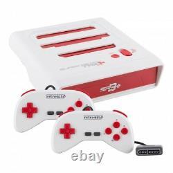 Sr3 Retro-bit Super Retrotrio+ Plus Hd Snes/nes/sega Genesis Console 720p Hdmi
