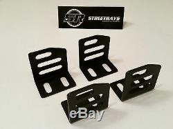 Sr Universal Super Low Bas Montage Latéral Supports Nrg Recaro Sparco Bride Seat