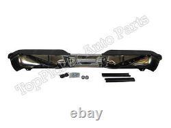Step Bumper Chrome Assy Pour 1999-2007 Super Duty F250 350 450 Sans Capteur