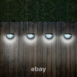 Super Bright Solar Powered Led Door Fence Wall Lights Outdoor Garden Lighting Royaume-uni