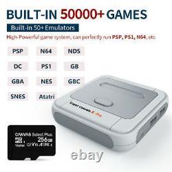 Super Console X Pro New Retro Mini Wifi 4k Hdmi Tv Video Game Console Ps1/n64/dc