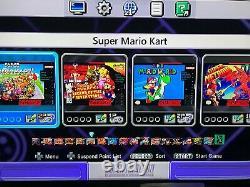 Super Nintendo Classic Mini Edition Snes System 530+ Jeux! Nes! Nouveau