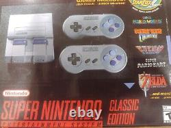 Super Nintendo Mini Divertissement Système / Super Nes Classic Edition 21 Jeux