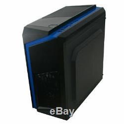 Super Rapide Gaming Ordinateur Intel Core 2 Duo E8400 3.00ghz 4gb 250gb Hdd Wifi