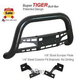 Super Tiger Bull Bar Fits 99-02 Toyota 4runner Noir Peint Garde Bumper