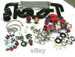 Super Twin Turbo Kit Chargeur Pour Chevy Camaro Ss Ls1 Ls5 Ls6 Petit / Grand Bloc