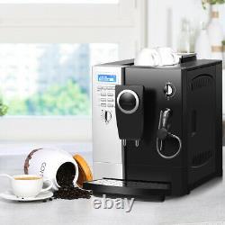 Super-automatic Espresso Machine Cappuccino Latte Maker 19 Bar Avec Mousse De Lait