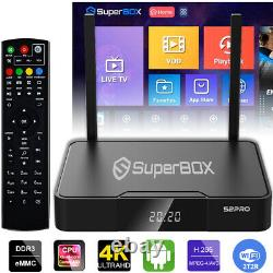 Superbox S2 Pro Media Player, 6k Android 9.0 Tv Wi-fi Double Bande 2.4g/5g 2021