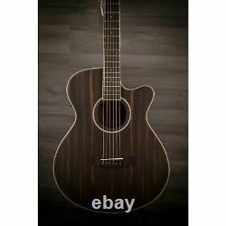 Tanglewood Dbt-sfce-aeb Discovery Super Folk Electro Acoustic Guitar Ebony