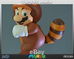 Tanooki Mario Super Mario Figur First 4 Figures / Nintendo Tanuki Statue