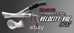 Tornador Zv-240 Velocity Vac (sèche) Expédition Super Rapide