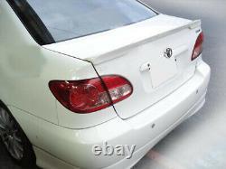 Toyota Corolla Altis Trunk Deck Lip Spoiler Type Oe Sedan 2002-2008