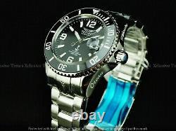 Tresod Men Super Luminova Ocean Master Auto Black Dial Sapphire Crystal Ss Montre