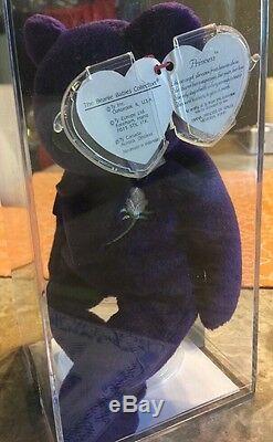Ty Princesse Diana Authenticated Indo. Ghost Version Super Rare! Pvc + Espace