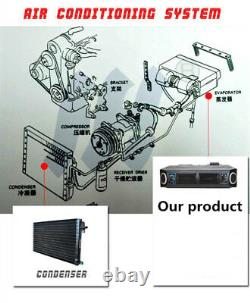 Universal 12v A/c Ac Kit Underdash Evaporator Compresseur Climatiseur 3 Vitesse