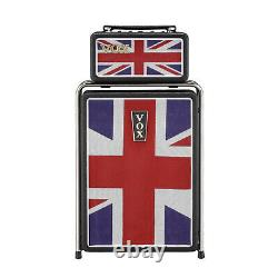 Vox Msb25uj Mini Super Beetle 25 Watt Guitar Amplificateur Avec Union Jack Print