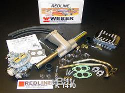 Vw Beetle Bug Super Luxe Weber Carburateur Kit