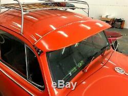 Vw Bug Extérieur Sun Visor 1952-79 Ragtop Super Coléoptère Hot Rat Rod Vintage Fiberg