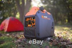 Wen 56235i Super Silencieux 2350 Watts Générateur Inverter Portable Avec Fermeture De Combustible