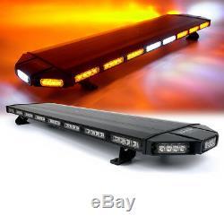 Xprite Amber Led Toit Strobe Light Bar 12v Clignotant Warning D'urgence