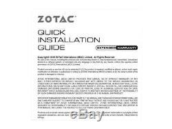 Zotac Geforce Gtx Gaming 1660 6 Go Gddr5 192 Bits Des Jeux De Carte Graphique, Super Comp